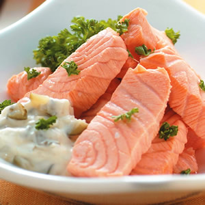 塔塔醬鮭魚
