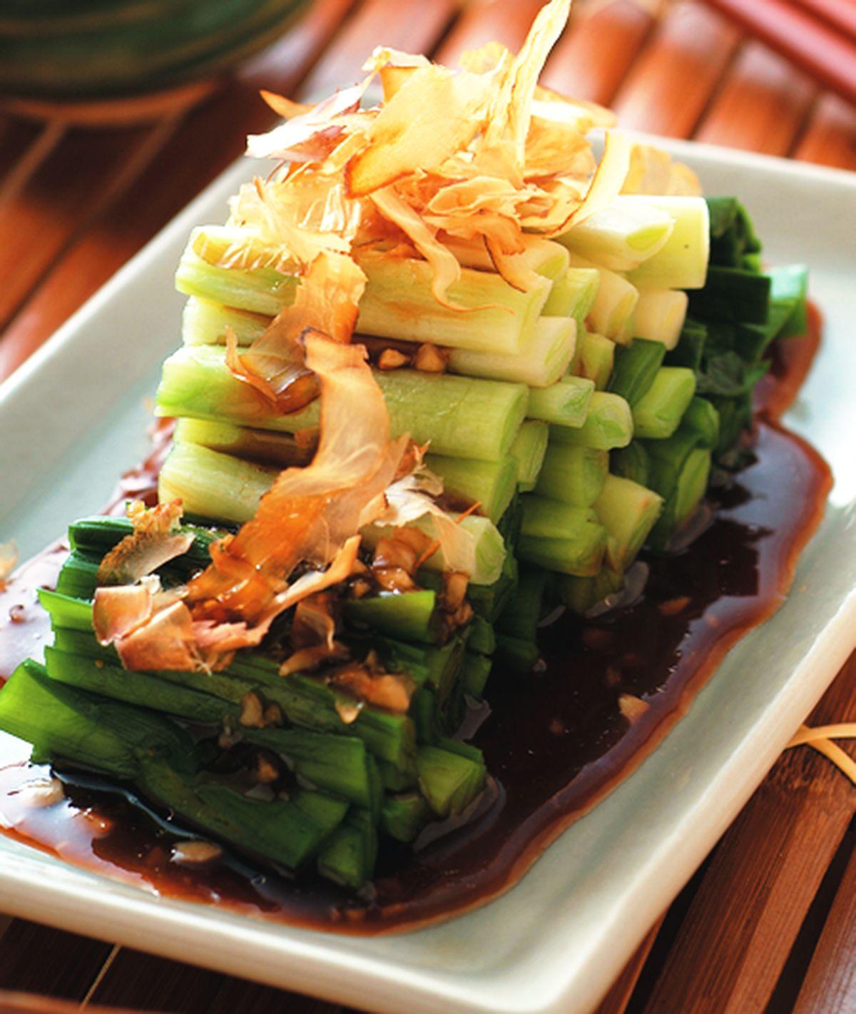 食譜:涼拌柴魚韭菜