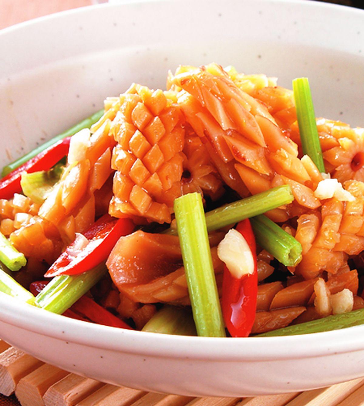 食譜:芹菜炒魷魚