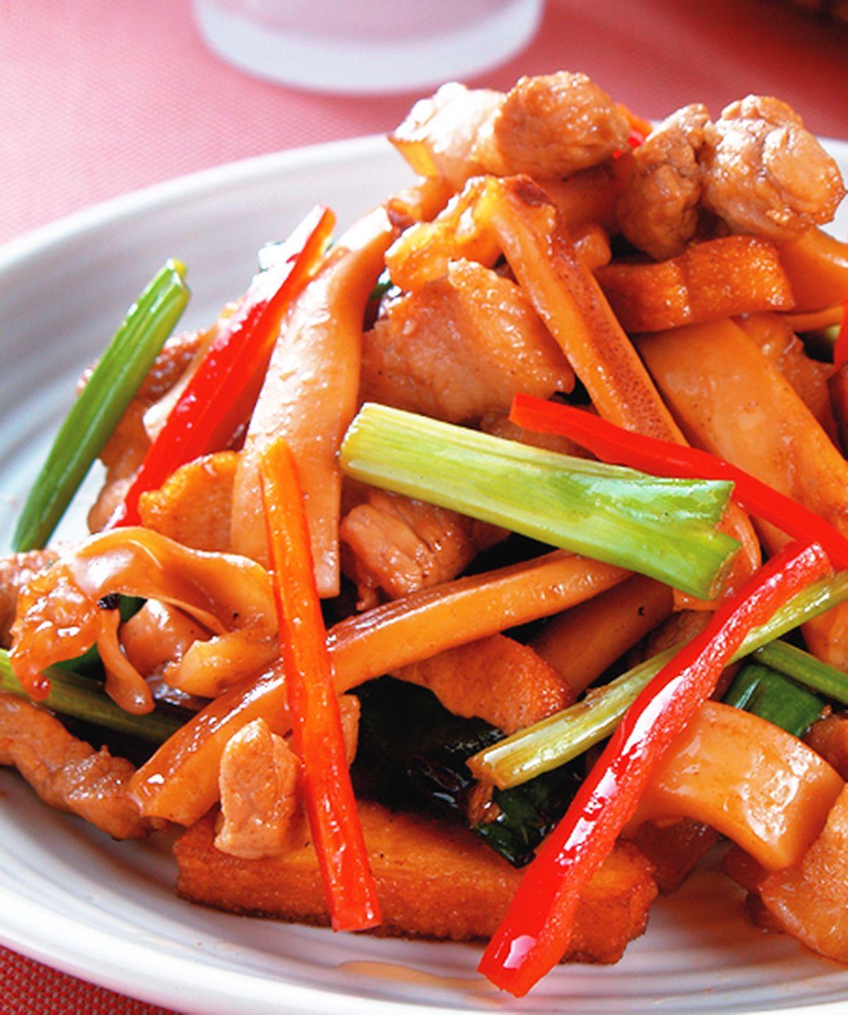 食譜:客家小炒(5)