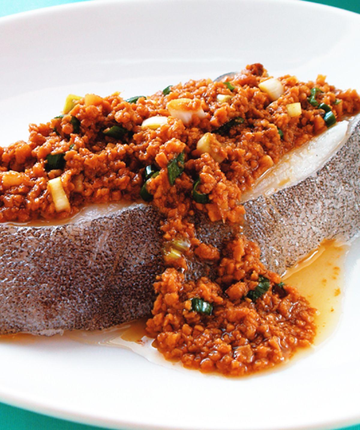 食譜:豆酥鱈魚(5)