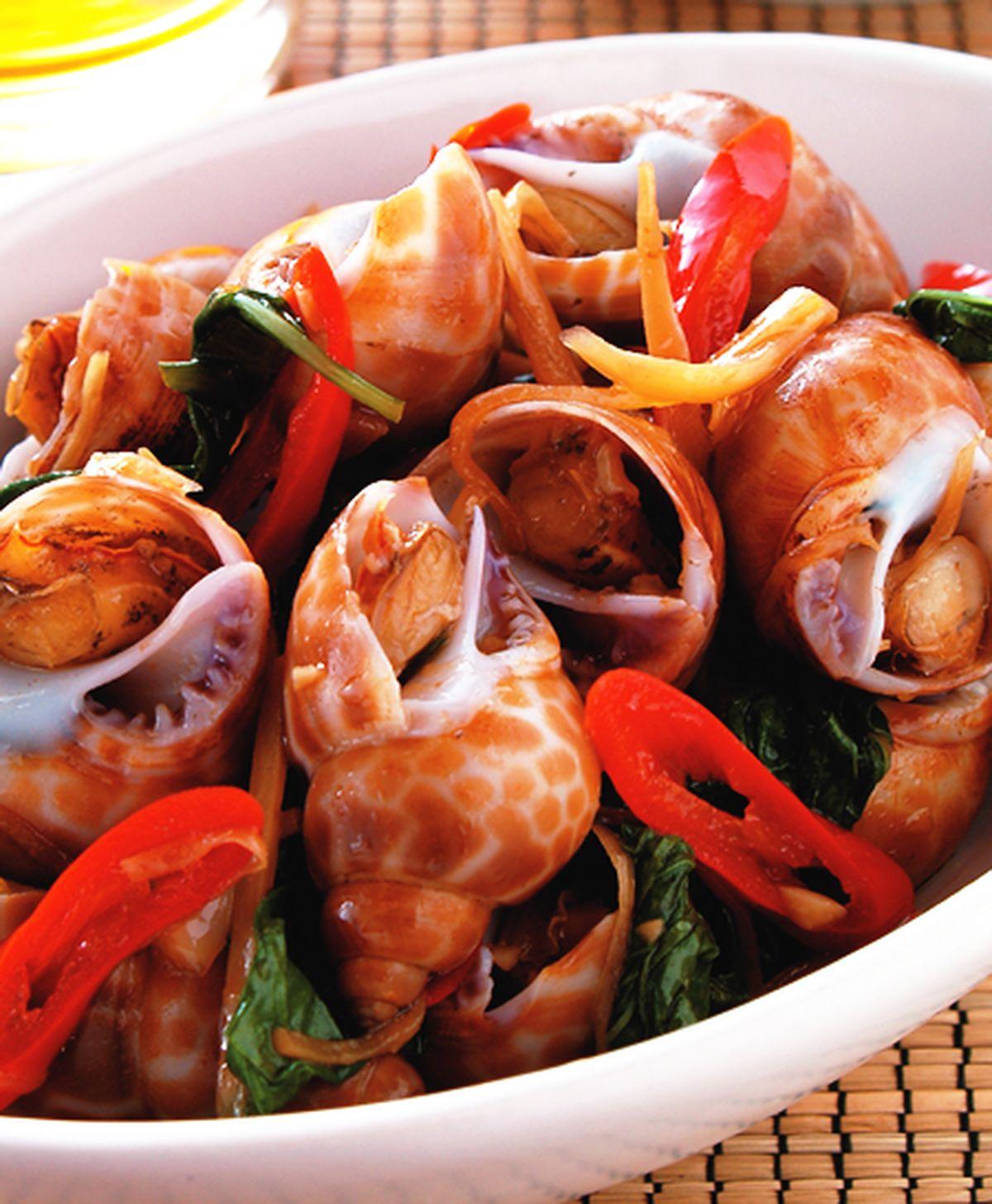 食譜:炒風螺