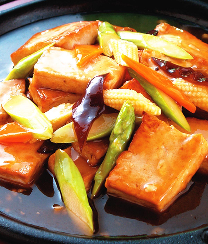 食譜:鐵板豆腐(1)