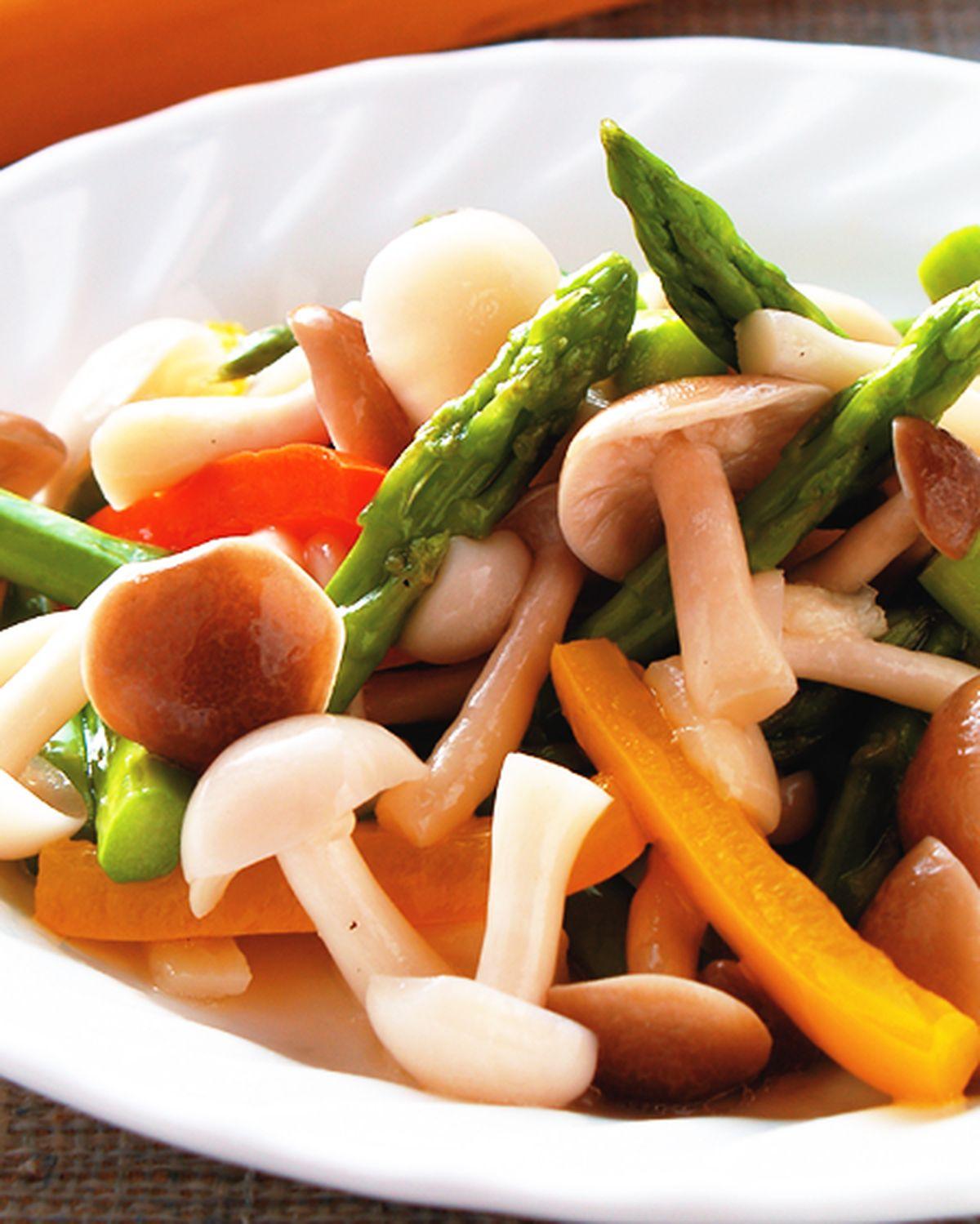 食譜:炒雙菇