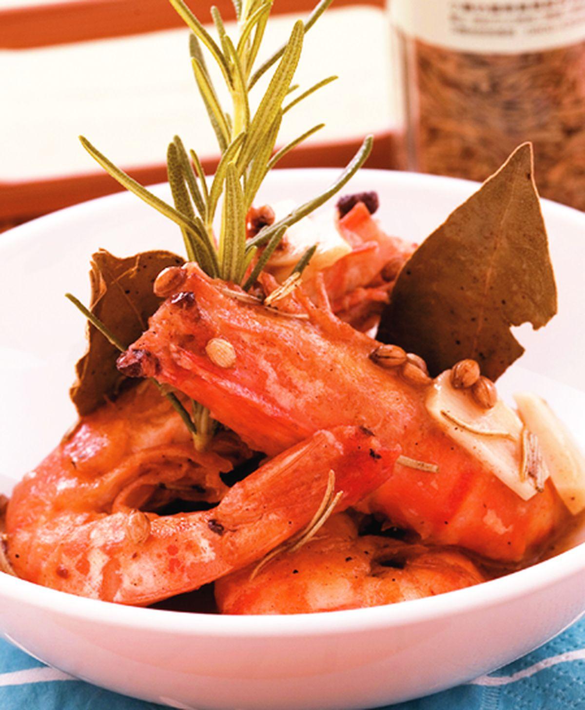 食譜:香料醋汁鮮蝦