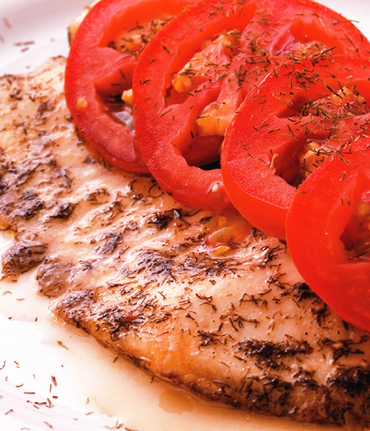 食譜:蒔蘿烤魚片