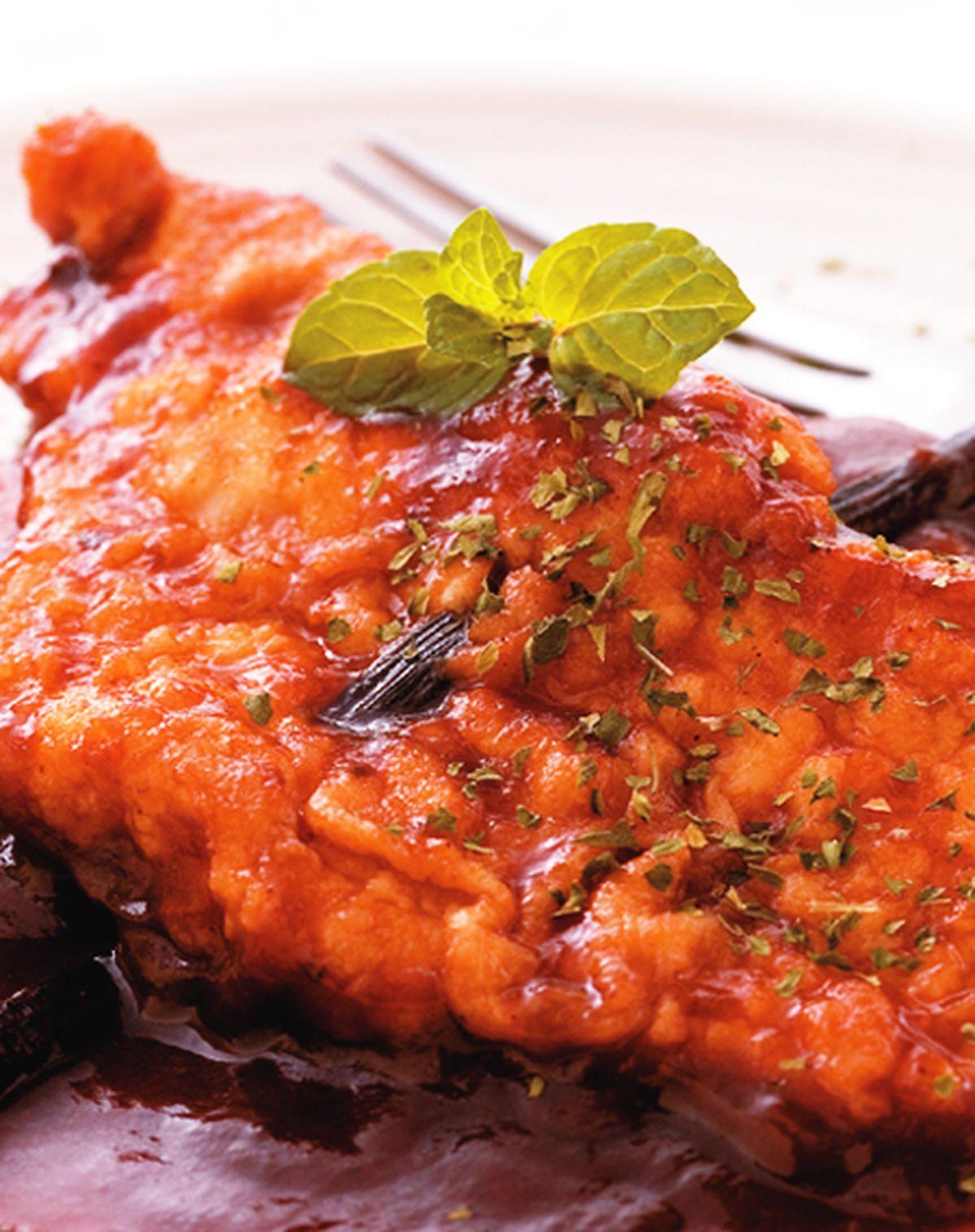 食譜:香草燒豬排