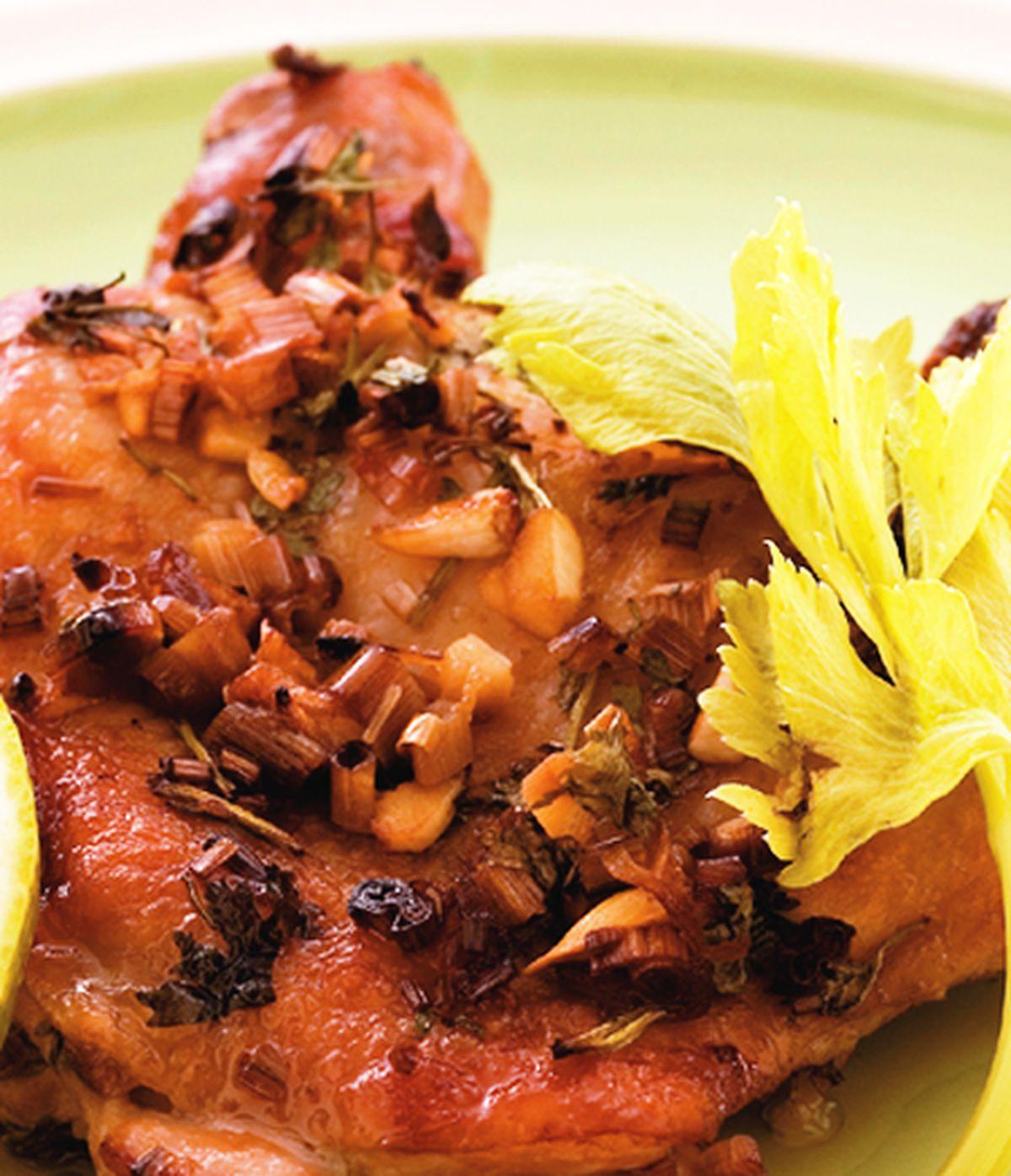 食譜:香茅烤雞腿