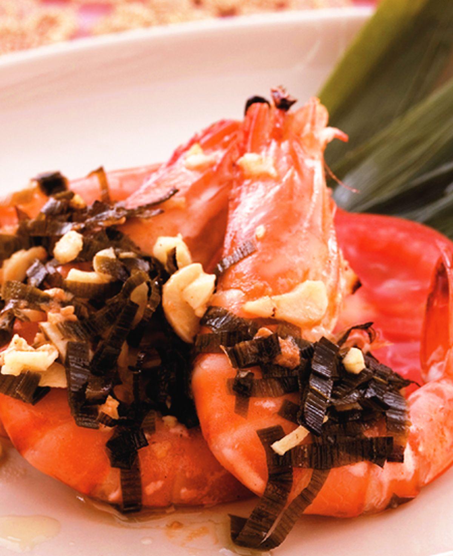 食譜:香蘭烤鮮蝦