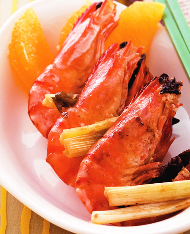食譜:八角烤蝦串