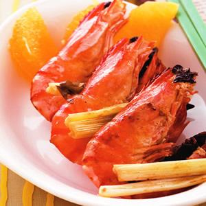 八角烤蝦串