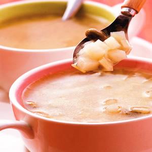 青蒜洋芋湯