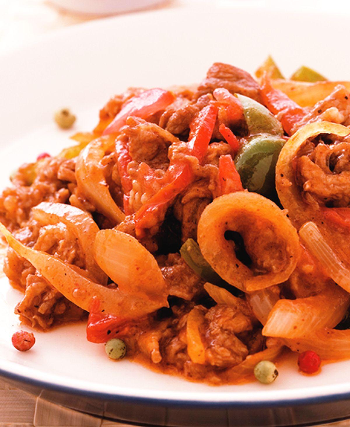 食譜:墨式炒牛肉