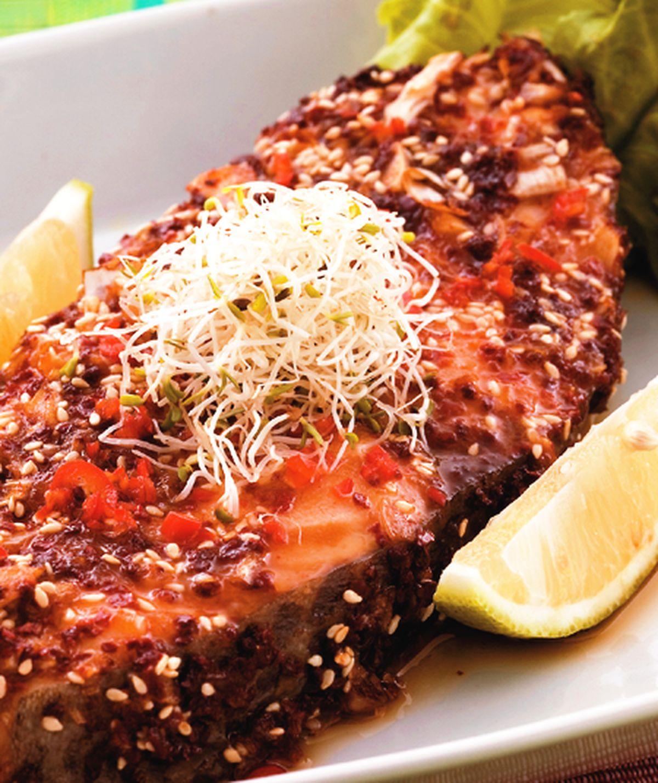 食譜:韓式烤鱈魚