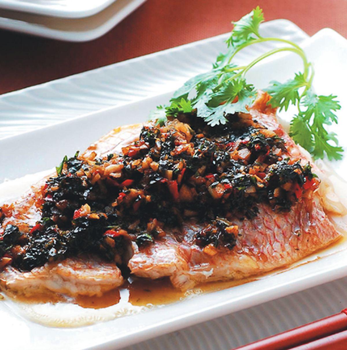 食譜:塔香魚