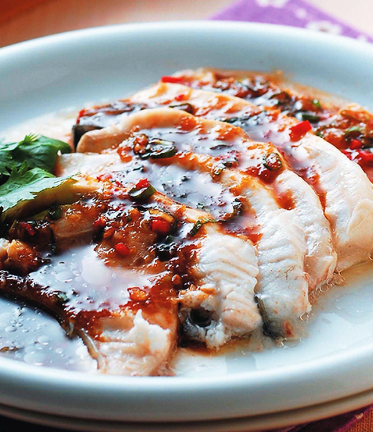 食譜:蒜泥魚片
