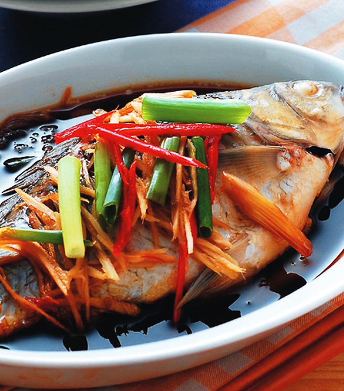 食譜:紅燒魚(1)