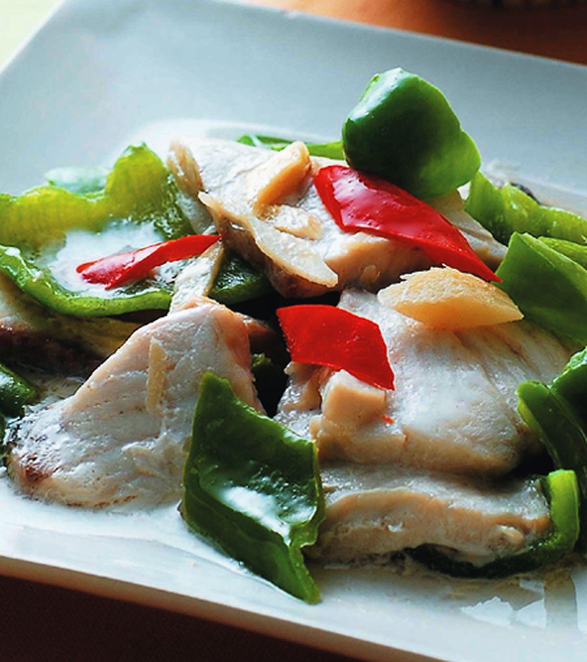 食譜:青椒魚片