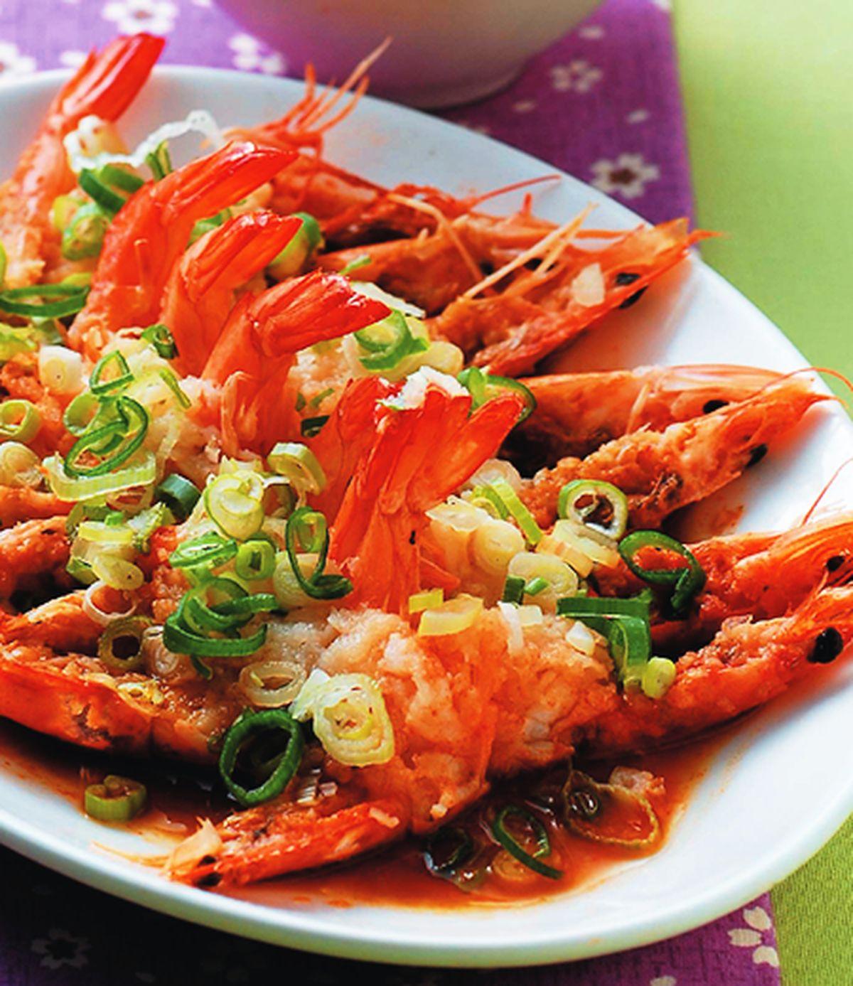 食譜:蒜泥蝦