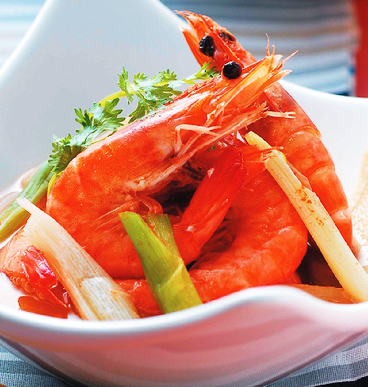 食譜:鹽水蝦