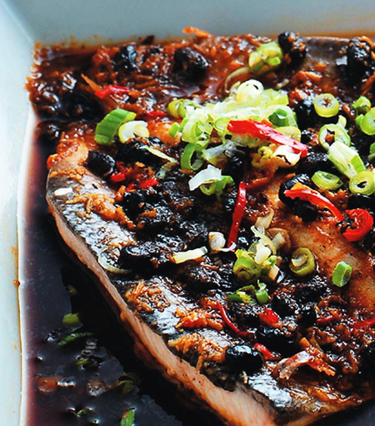 食譜:豆豉虱目魚(1)