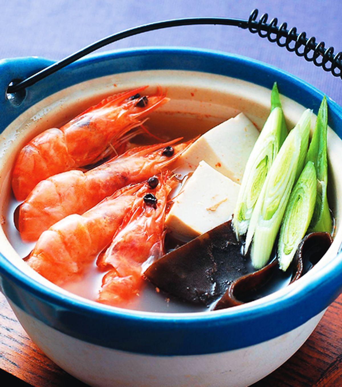 食譜:蘿蔔鮮蝦鍋