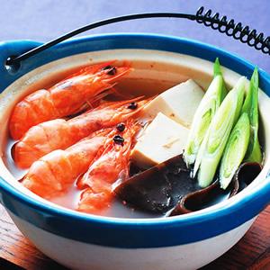 蘿蔔鮮蝦鍋