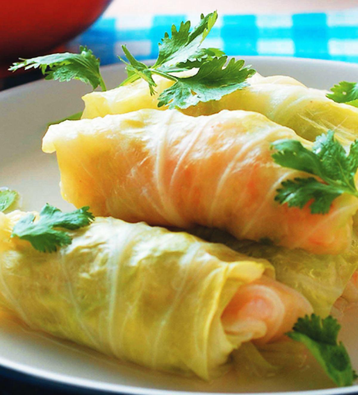 食譜:高麗菜蝦卷