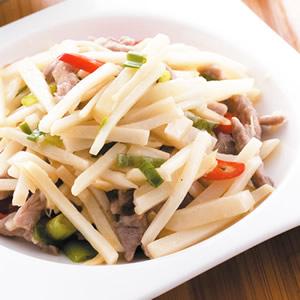 竹筍炒肉絲(1)