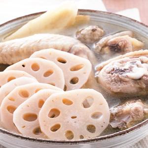 藕片燉土雞