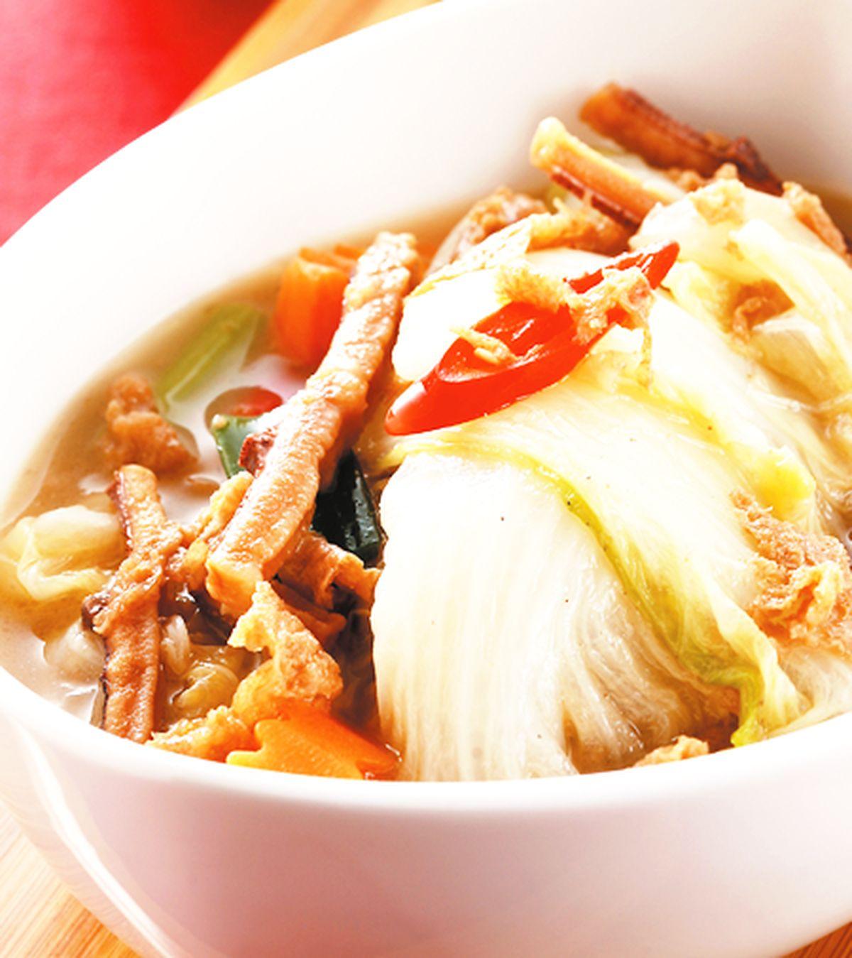 食譜:魷魚絲燉白菜