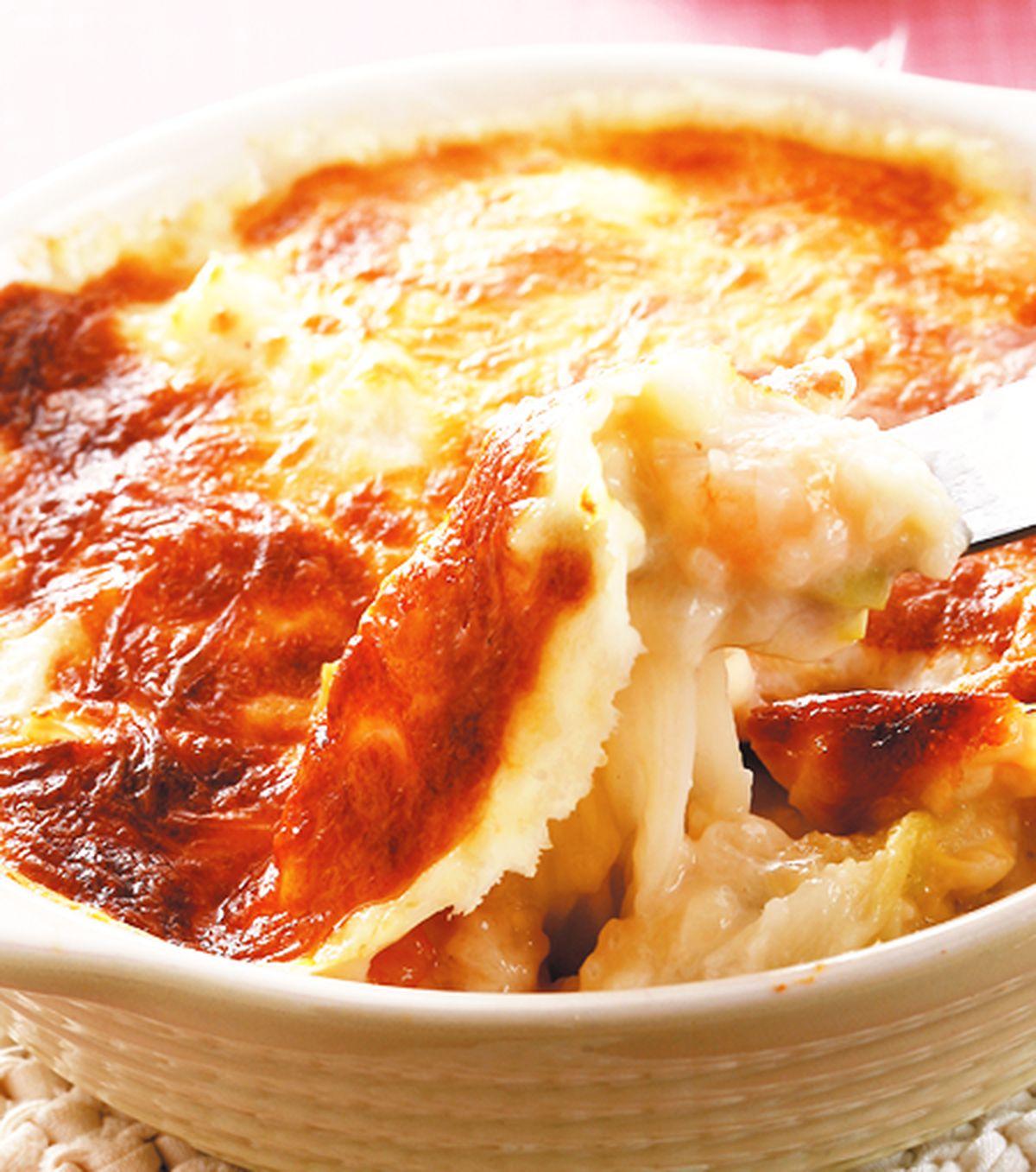 食譜:奶油焗白菜(1)