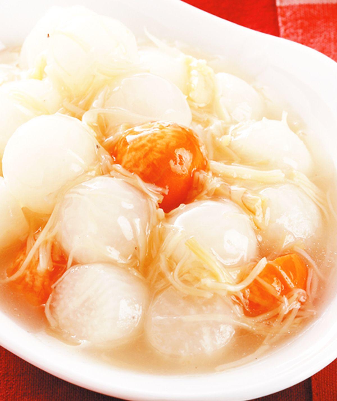 食譜:干貝蘿蔔球(1)