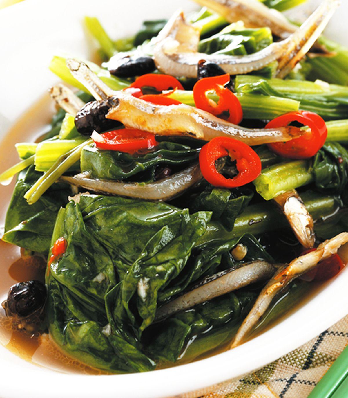 食譜:丁香菠菜
