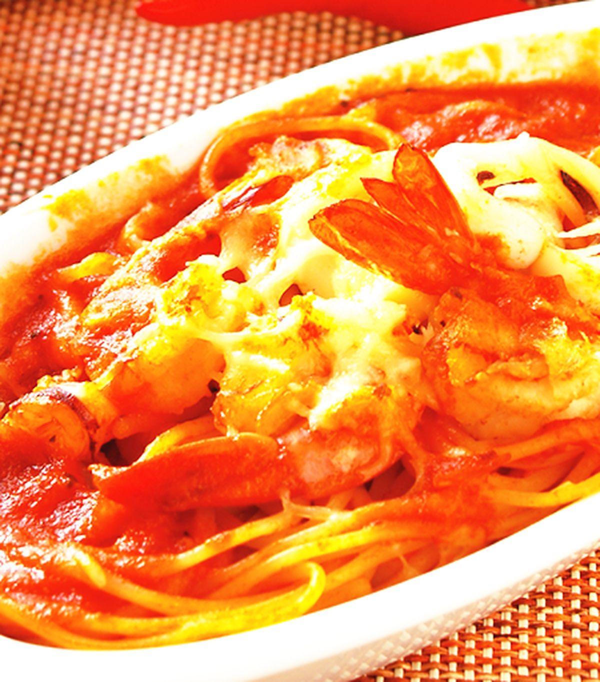 食譜:海鮮焗麵