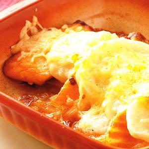 焗烤鮭魚薯片