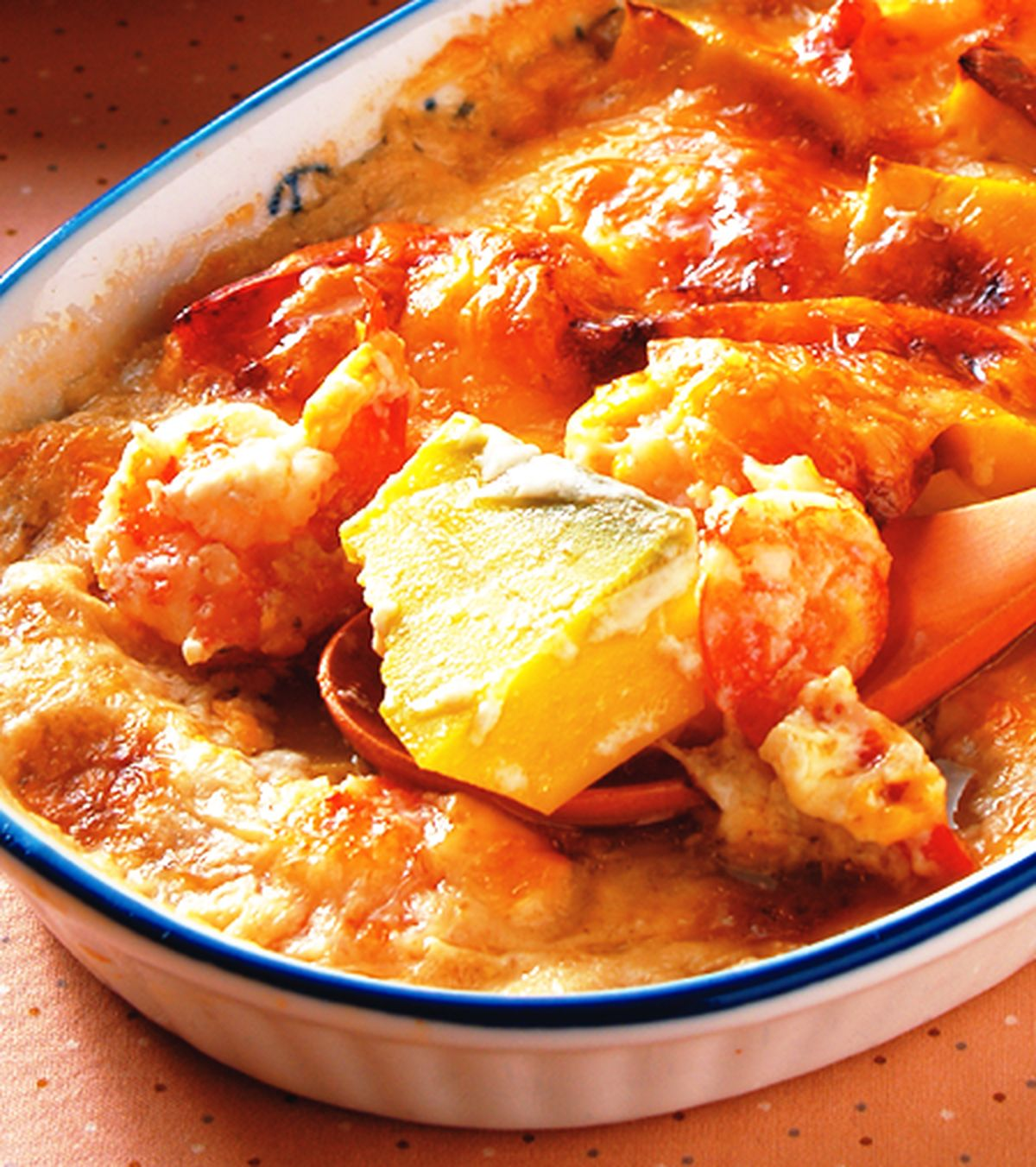 食譜:焗烤酪梨鮮蝦