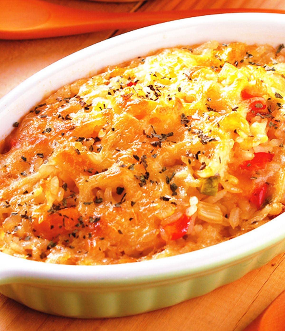 食譜:焗烤時蔬燉飯