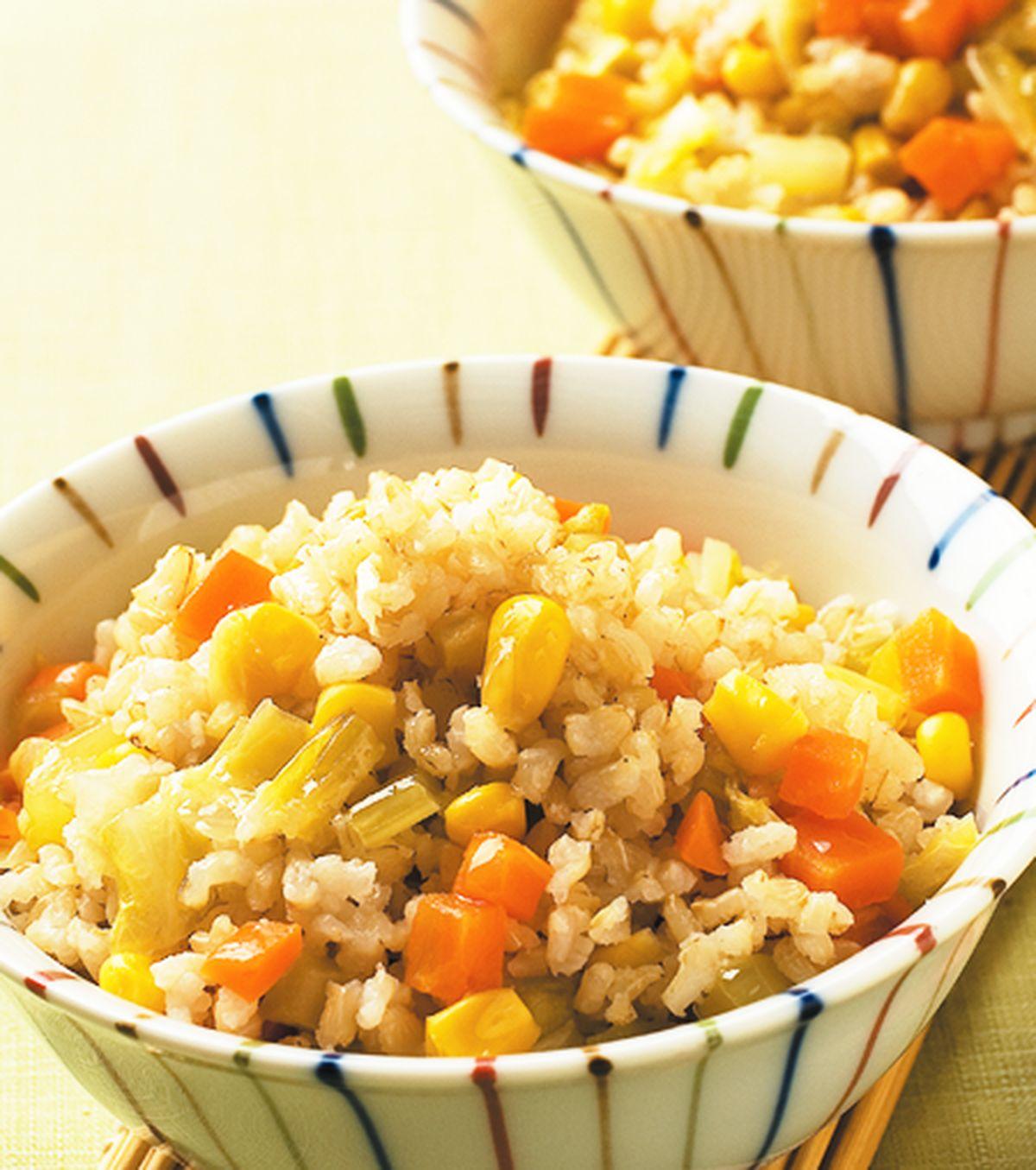 食譜:活力蔬菜飯