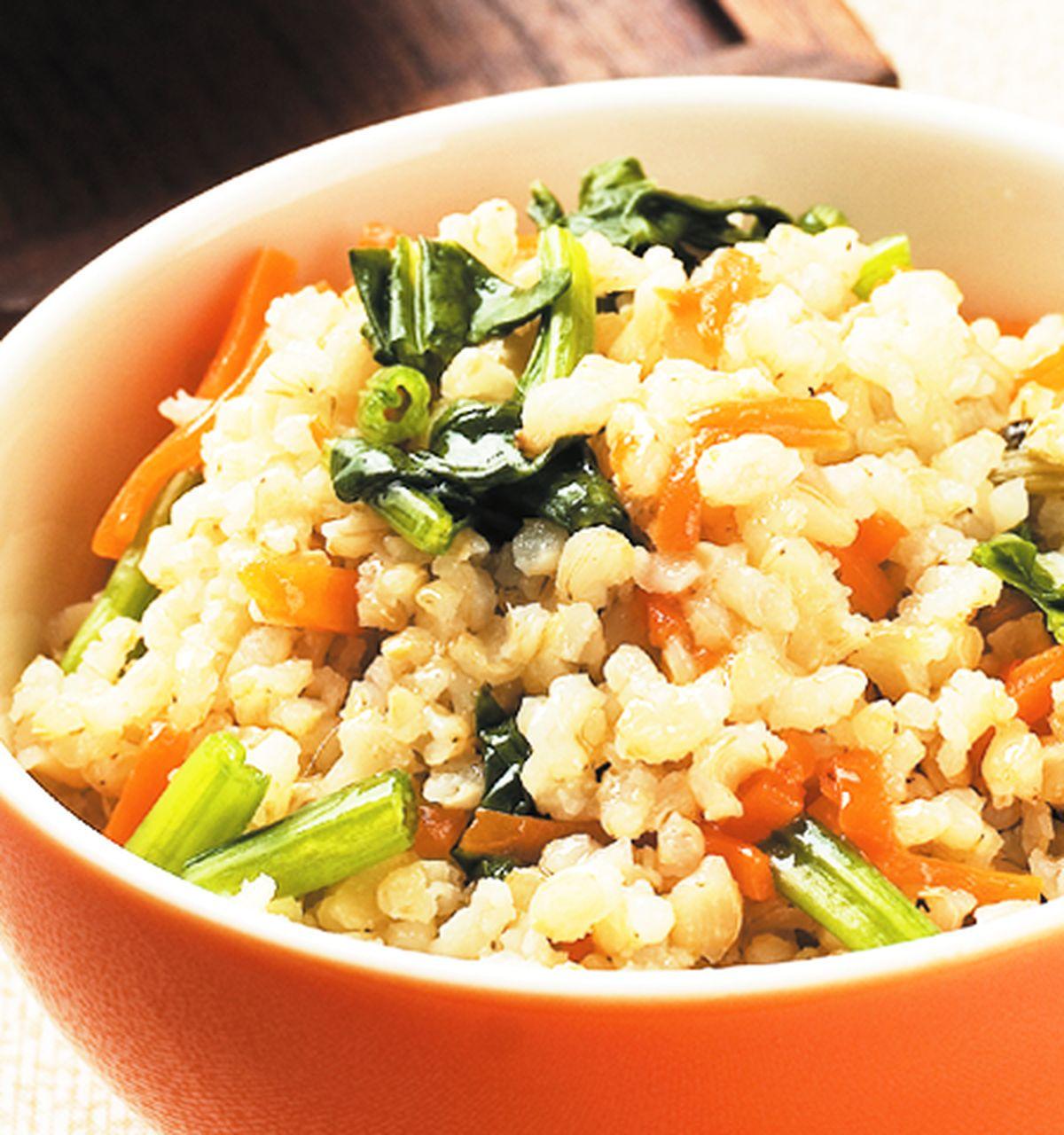 食譜:菠菜發芽米飯