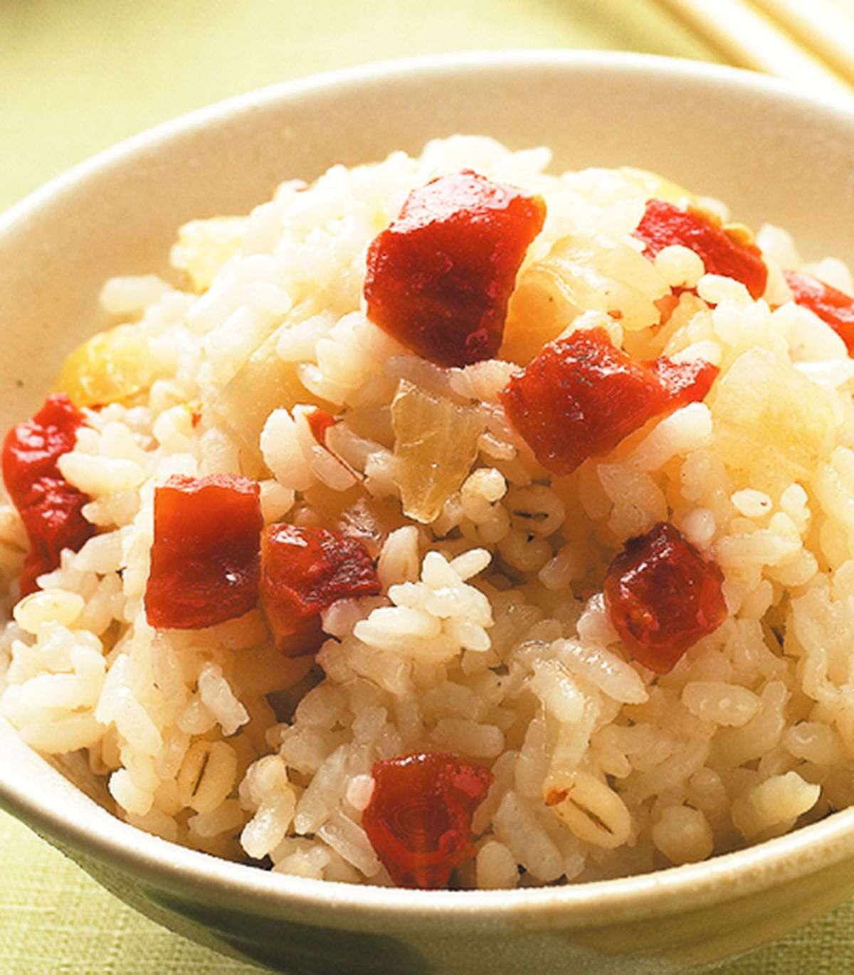 食譜:蕃茄蒸飯