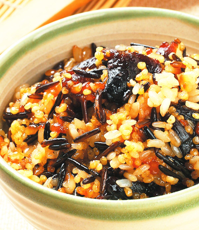 食譜:桂圓野米甜飯