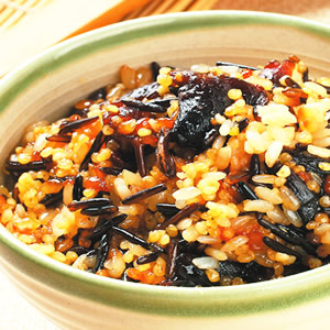 桂圓野米甜飯