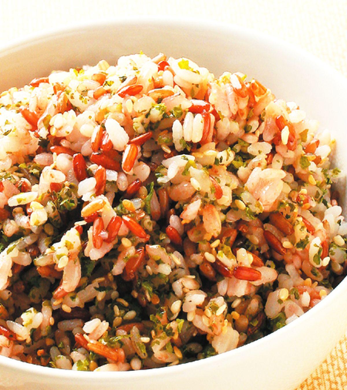 食譜:海苔芝麻飯