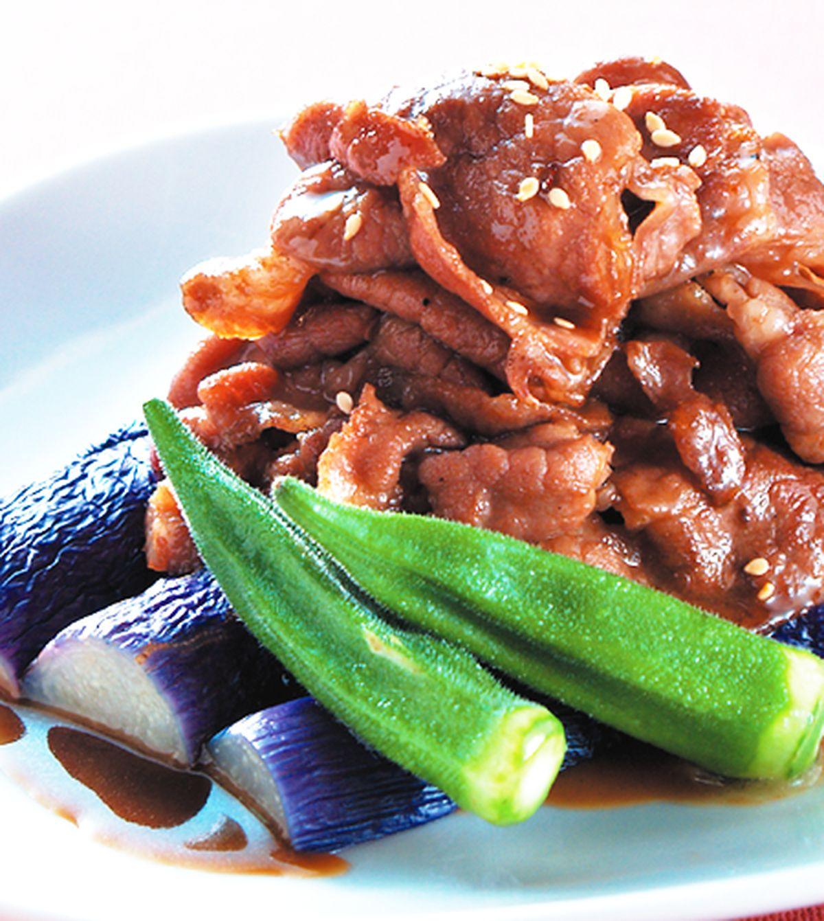食譜:照燒薄肉片