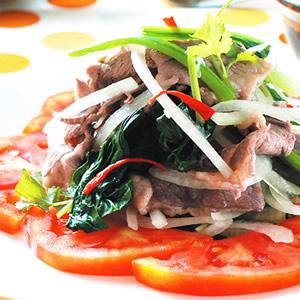 泰式麻辣拌肉片