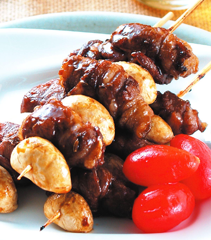食譜:串烤羊肉片