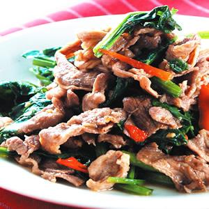 辣炒羊肉片
