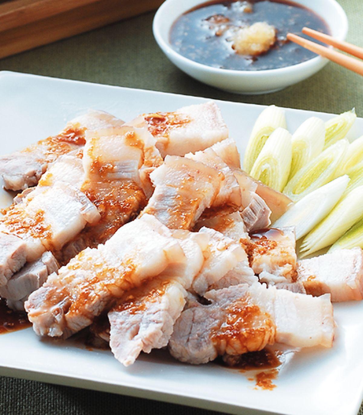 食譜:蒜泥白肉(5)