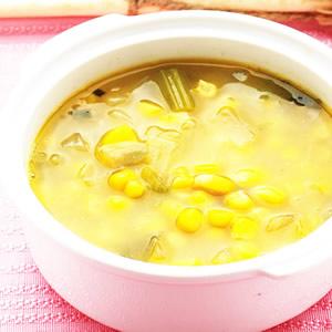 玉米茸湯頭